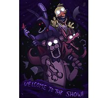 FNAF - Greatest Show Unearthed! Photographic Print