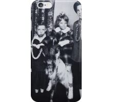 Holiday Greetings from the Robinson's iPhone Case/Skin