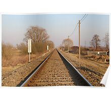 Railway track Poster