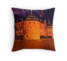 Örebro in Christmas...God Jul... Throw Pillow