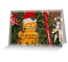 A Very Merry Garfield Christmas Greeting Card