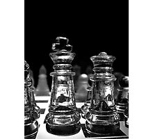 Chess 3063: King and his Dame Photographic Print