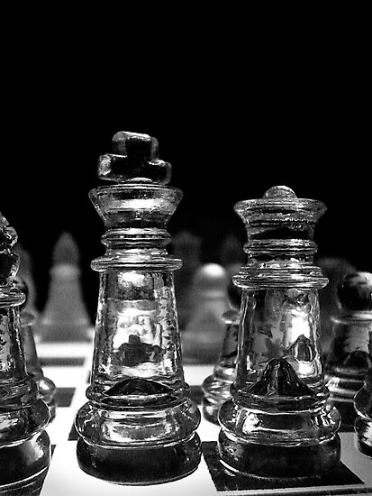 Chess 3063: King and his Dame by Lenka