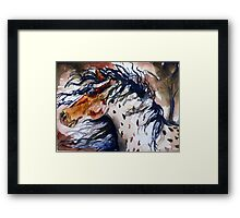 Fury in the Wind Framed Print