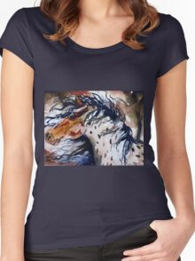Fury in the Wind Women's Fitted Scoop T-Shirt
