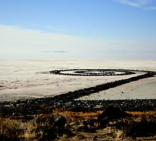 Spiral Jetty by JustM