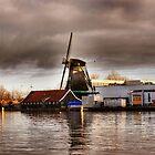 Lone mill by Gideon van Zyl