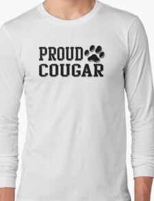 Proud Cougar Long Sleeve T-Shirt