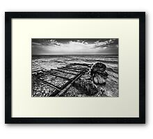 The Winter Sea 06 Framed Print