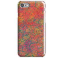 Fiery Green texture iPhone Case/Skin
