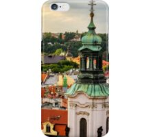 Rooftops of Prague 1 iPhone Case/Skin