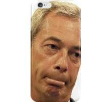 Farage - Only a little bit racist iPhone Case/Skin
