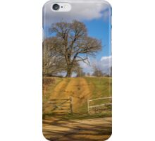 The sandy track iPhone Case/Skin