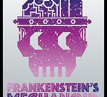 Frankenstein's Mechanoid - 80s Grunge by PPWGD