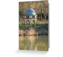 A Folly with etched glass Greeting Card