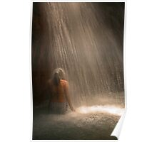 Girl Beneath the Fall Poster