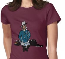 union square guy color option Womens Fitted T-Shirt