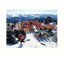 Austrian Alps-Saalbach-Hinterglemm  Art Print