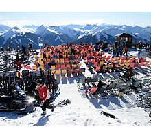 Austrian Alps-Saalbach-Hinterglemm  Photographic Print