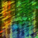 Colorful Abstract 10 by Edward Fielding