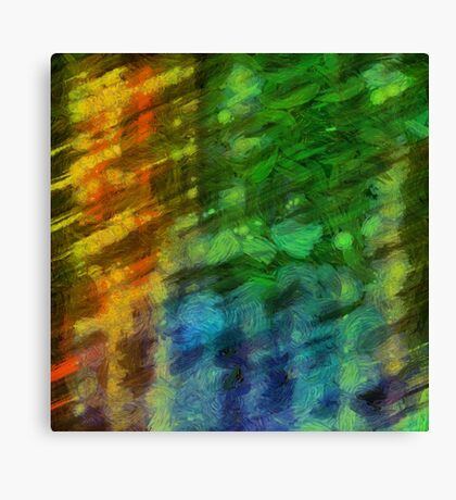 Colorful Abstract 10 Canvas Print
