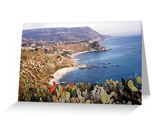 BOVALINO MARINA...CALABRIA ...mare Jonio -ITALIA -EUROPA -5500 visualizaz.2013 ---FEATURED RB EXPLORE 20 OTTOBRE 2011 --- Greeting Card