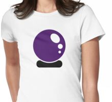 Magic crystal ball Womens Fitted T-Shirt