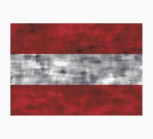 Distressed Austria Flag Kids Clothes