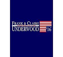 Underwood '16 Photographic Print