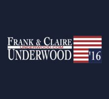 Underwood '16 by shirtsfanboy