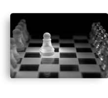 Chess 13: Opening Canvas Print
