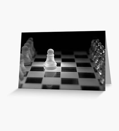 Chess 13: Opening Greeting Card