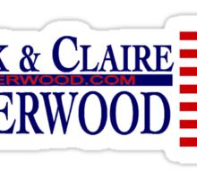 Underwood '16 Blue Sticker