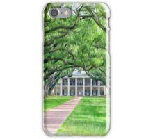Louisiana plantation iPhone Case/Skin