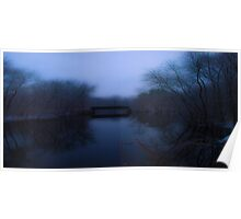 Ipswich River in Winter Poster