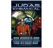 Judas Khemical Preview cover Photographic Print
