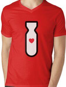 Love Bomb! Mens V-Neck T-Shirt