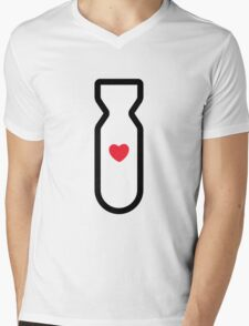 Love Bomb! Mens V-Neck T-Shirt