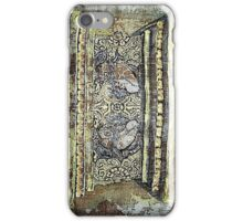 Yoga of Sleeping - Lion throne detail iPhone Case/Skin
