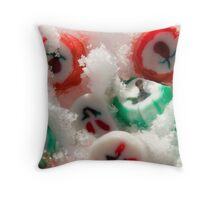 Snowy Sweets Throw Pillow