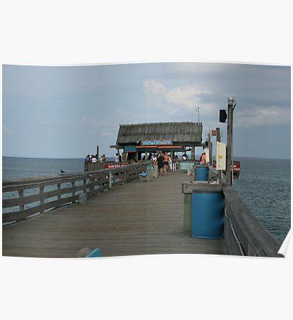 Pier Tiki Bar Poster