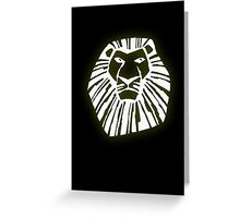 The Lion King Greeting Card