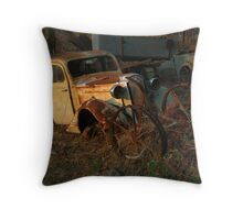 Lights out Throw Pillow