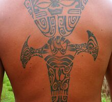 Tattoo in Raiatea, French Polynesia by Laurel Talabere