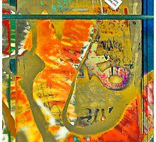 New York Graffiti #3 by Mark Ross