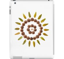 Leaf and Acorn Mandala iPad Case/Skin