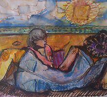 BEACH FOR TWO(C1996) by Paul Romanowski