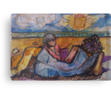 BEACH FOR TWO(C1996) Canvas Print