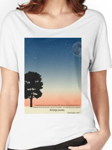 Think about the Earth Women's Relaxed Fit T-Shirt