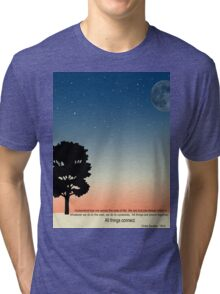 Think about the Earth Tri-blend T-Shirt